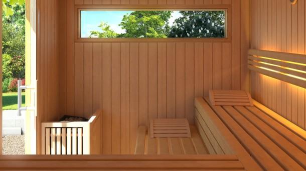 Sauna velito - Buitenkant terras design ...